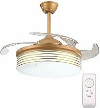 AGWa Yzpfsd Invisible Deckenventilator Licht, 65W