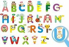 Aha Yo-26 Englische Buchstaben Aufkleber,
