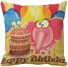 AHArtSaleStore O6L Balloons Decoration Pillow Case Cushion Cover 18 inch