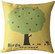 AHArtSaleStore O9L Fruit Decoration Pillow Case Cushion Cover 18 inch