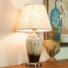 AHB Keramiklampe Studie Hotel Wohnzimmer