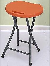 AHB Kunststoff Klappstuhl Stuhl Einfach Tragbar