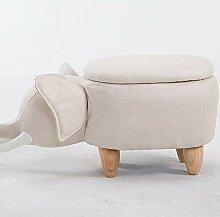 AHDA Abnehmbar, Kinderkarikatur Elefantenhocker,