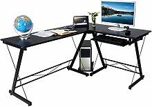 AHHC Eckschreibtisch Schreibtisch Computertisch