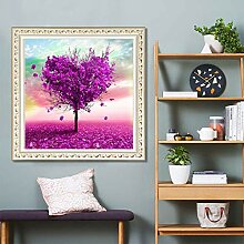 ahjs456 DIY Diamond Malerei Liebe Baum Aufkleber