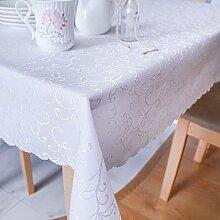 AHOLTA Design Tischdecke, schmutzabweisend,