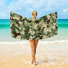 Ahomy Mikrofaser-Strandtücher Camouflage großes