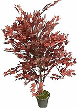 Ahorn rot - Künstliche Baum mit Stämmen