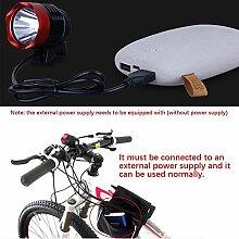 ahrrad Taschenlampe, HappyTop 3000 Lumen 3-Modus