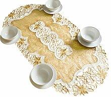 AHS Tischläufer mit Organza-Stoff,