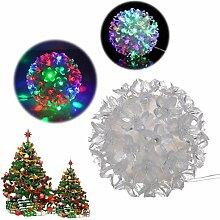ahuha Led Weihnachtsbaum Lichter Dekoration Blume