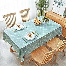 Ahuike Abwaschbar Tischdecke Wasserabweisend PVC