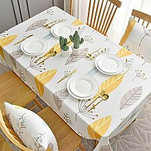 Ahuike Tisch Decke Wasserabweisend Modernes