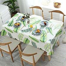 Ahuike Tischdecke Wasserabweisend Lotuseffekt