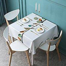 Ahuike Tischtuch mit Pflegeleicht Fleckschutz