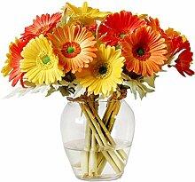 Ahvoler Künstliche Gerbera-Blume, realistische