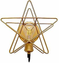 AI DENG Fünfzackiger Stern Wandlampe Industrie