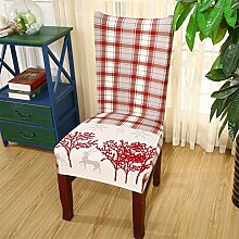 ai-home Stuhl Bezug Polyester floral Stretch für Esszimmer Party Decor Strechhusse abnehmbar Style 17