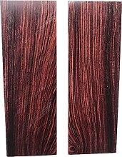 Aibote 1 Paar Natürliches Lila Birne Holzes