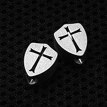 Aibote 1 Stück Titanlegierung TC4 Messer-Perlen