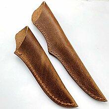 Aibote Leder-Messerscheide für Küchenmesser, mit