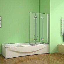 Aica Sanitär Badewannenaufsatz Duschabtrennung