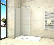 Aica Sanitär Duschwand Walk In Dusche 50cm