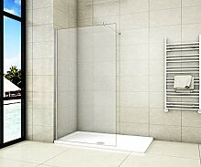Aica Sanitär Duschwand Walk In Dusche 70cm