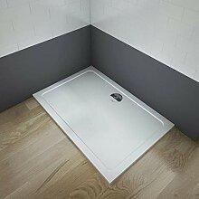 Aica Sanitär Duschwanne/duschtasse Rechteck 100 x