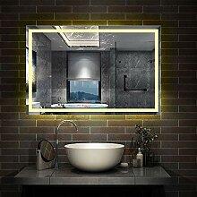 AicaSanitär LED Badspiegel 100×60cm Badspiegel
