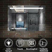 AicaSanitär LED Badspiegel 100×70cm Badspiegel