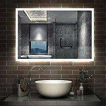 AicaSanitär LED Spiegel 100×60cm Badspiegel