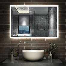 AicaSanitär LED Spiegel 120×70cm Badspiegel