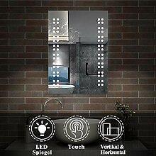 AicaSanitär LED Spiegel klein 39×50cm