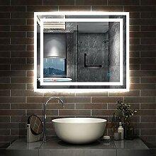 AicaSanitär LED Spiegel klein 60×50cm
