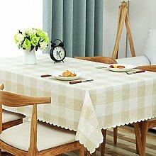 Aich Gingham Tischdecke Kunststoff,ländlichen