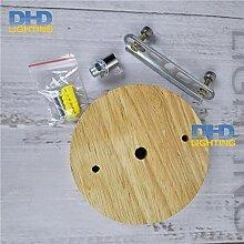 AiCheaX 120mm Holz pendelleuchte halterplatte DIY