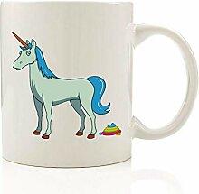 AICUP Einhorn Keramik Bedruckte Kaffeetasse Becher