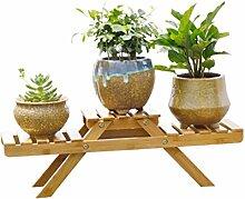 AIDELAI Blumenständer- Holz Blumenständer,