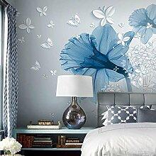 AIEK 3D Stereo Blume TV Hintergrund Wand 3D