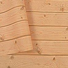AIEK Création PVC tapete of Wood Tapete Home