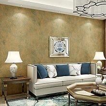 AIEK Einfache Moderne Vlies-Tapete Schlafzimmer