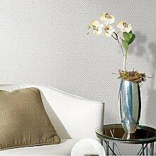AIEK Pure Farbe Einfache Vlies-Tapete Schlafzimmer