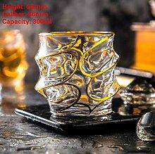 AIJ Whiskey Kristall Tasse Weinglas Trinkgläser