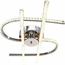 AIKE 48W LED-Deckenleuchte Minimalismus Kristall