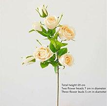 aikenn Künstliche Rosen Gefälschte Blumenstrauß
