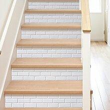 AILEGOU 3D Treppenaufkleber, Aufkleber für