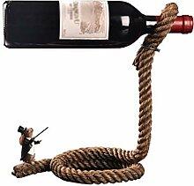 AILI Küche Haushalt Weinregale Rope Startseite
