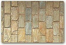 Ailovyo Fußmatte aus Gummi, rutschfest, für