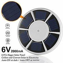 AimdonR Fahnenmast Lamp ,Solarenergie &